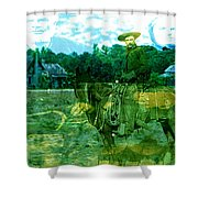 Shadows On The Land Shower Curtain