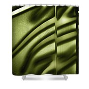 Shadows On Wall Shower Curtain