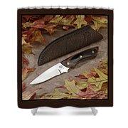 Shady Oak Knife-faa Shower Curtain