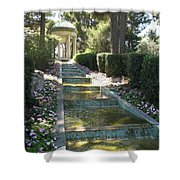 Shady Pavilion Shower Curtain