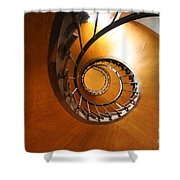 Shaft Staircase Shower Curtain