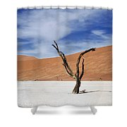 Shake Your Dreads Shower Curtain