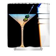 Shaken Not Stirred Shower Curtain by Bob Orsillo