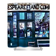 Shakespeare And Company Paris France Shower Curtain