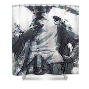 Shakespeare In Central Park Shower Curtain
