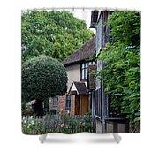 Shakespeare's Back Garden Shower Curtain