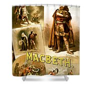 Shakespeare's Macbeth 1884 Shower Curtain