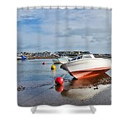 Shaldon-teignmouth Harbour 3 Shower Curtain