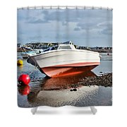 Shaldon-teignmouth Harbour Shower Curtain