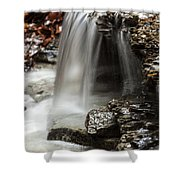 Shale Creek Waterfall Shower Curtain