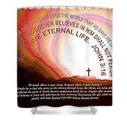 Jesus, Cross 117 Shower Curtain