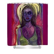 Shaman Woman Shower Curtain