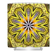 Shamanic Dreams Shower Curtain by Derek Gedney