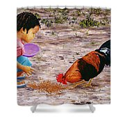 Shamika Shower Curtain by Victor Collector