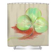 Shamrock Clover Shower Curtain