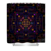 Shangdi 2013 Shower Curtain