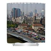 Shanghai, China Shower Curtain