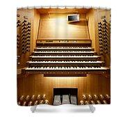 Shanghai Organ Console Shower Curtain