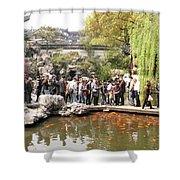 Shanghai Yuyuan Garden Shower Curtain