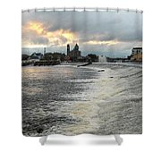 Shannon River 3 Shower Curtain