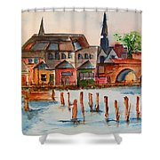 Shannon River Shower Curtain