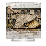 Shanty Town Disaster Shower Curtain