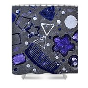 Shape From The Series The Elements And Principles Of Art Shower Curtain