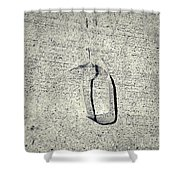Shape No. 28 Gray Scale Version Shower Curtain