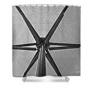 Shape No.1 Gray Version Shower Curtain
