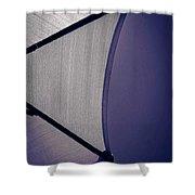 Shape No.3 Purple Version Shower Curtain