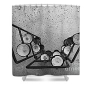 Shaped Openness 1 Shower Curtain