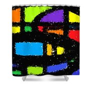 Shapes 18 Shower Curtain