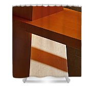 Shapes And Shadows Shower Curtain