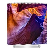 Shapes In The Canyon Shower Curtain