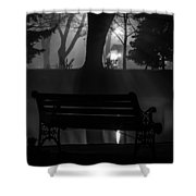 Shapes In The Park  Shower Curtain