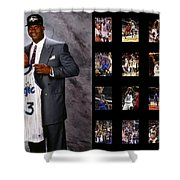 Shaquille O'neal Shower Curtain