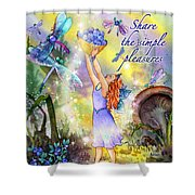 Share The Simple Pleasures Shower Curtain
