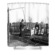Sharecropper Family, C1900 Shower Curtain