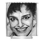 Shari Belafonte In 1985 Shower Curtain