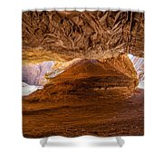 Sharp Curve In A Canyon Shower Curtain