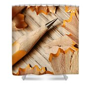 Sharpened Pencil Shower Curtain