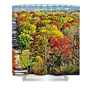 Shawnee Hill  Shower Curtain