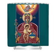 She Who Reigns 276 Shower Curtain