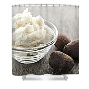 Shea Butter And Nuts  Shower Curtain