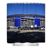Shea Stadium - New York Mets Shower Curtain by Frank Romeo