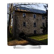 Sheards Mill In October Shower Curtain