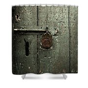 Shed Of Secrets Shower Curtain