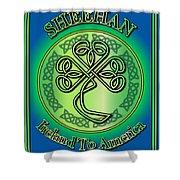 Sheehan Ireland To America Shower Curtain