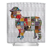Sheep Animal Showcasing Navinjoshi Gallery Art Icons Buy Faa Products Or Download For Self Printing  Shower Curtain