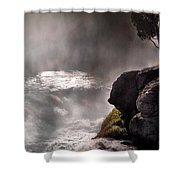 Sheep Falls Mist Shower Curtain